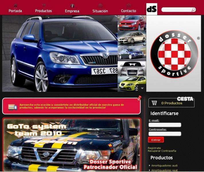 Desarrollo Web - Dosser Sportive